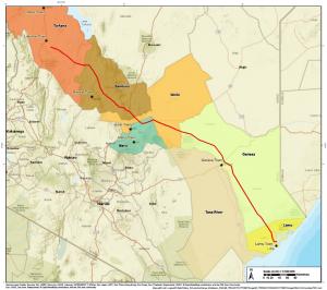 Crude Oil Pipeline Route