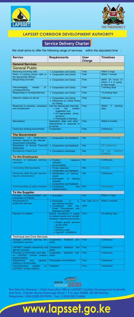 Service Charter English